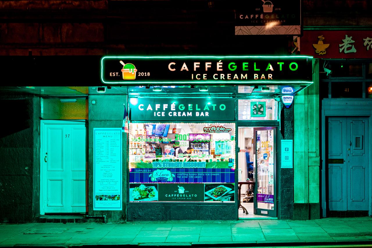Caffe Gelato Edinburgh